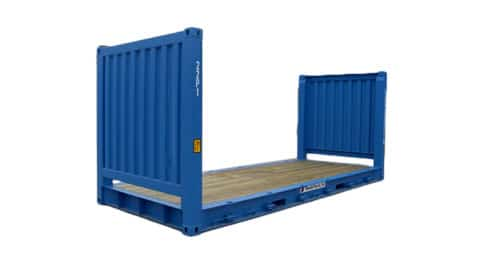 20 ft Flat Rack Container SmartFreight Freight Forwarder