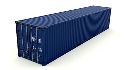40 ft Dry Container SmartFreight Freight Forwarder