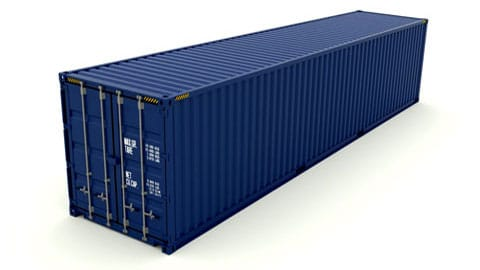 40 ft High Cube Dry Container SmartFreight Freight Forwarder