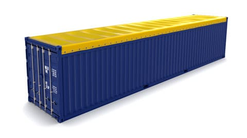 40 ft Open Top Container SmartFreight Freight Forwarder