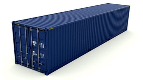 45 ft High Cube Dry Container SmartFreight Freight Forwarder