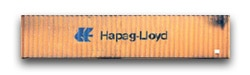 FCL container hapag