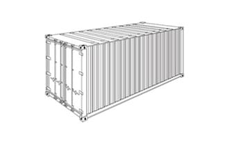 FCL 20 ft Container