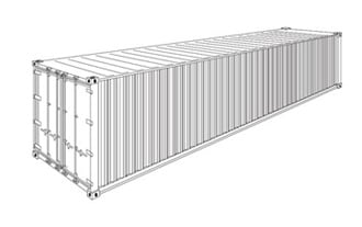 FCL 40 ft Container