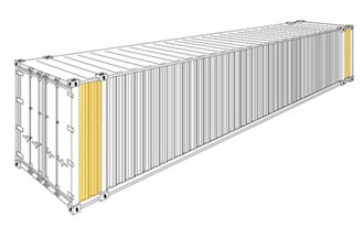 FCL 45 ft Container