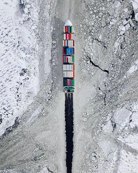 Sea Freight Ice Breaking