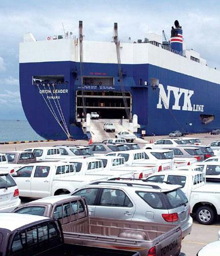 Sea Freight RO-RO